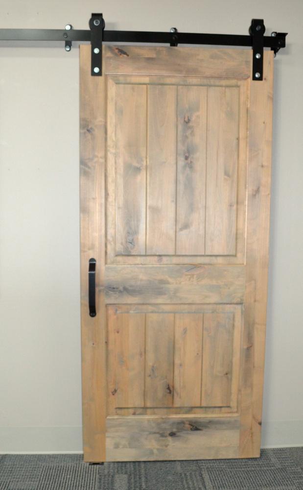 Barn Grey Two Panel Barn Door