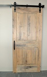 Barn Grey Two Panel Barn Door