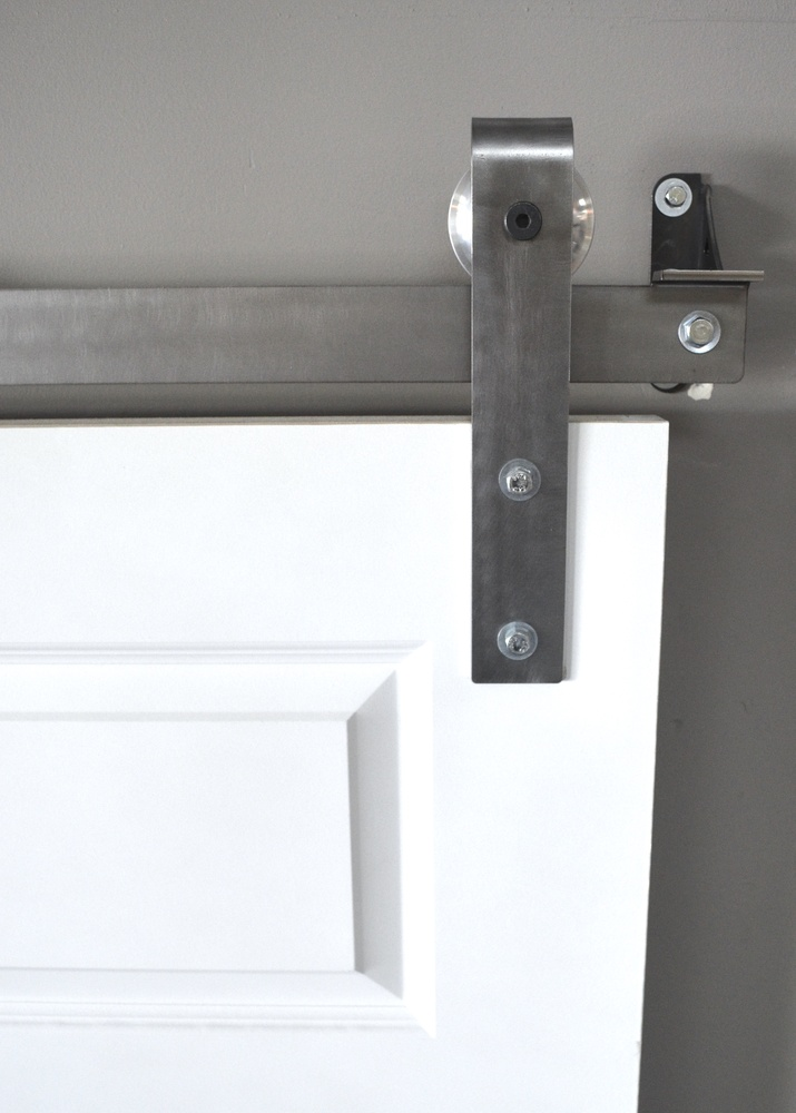 Brushed Stainless Steel Hardware Set